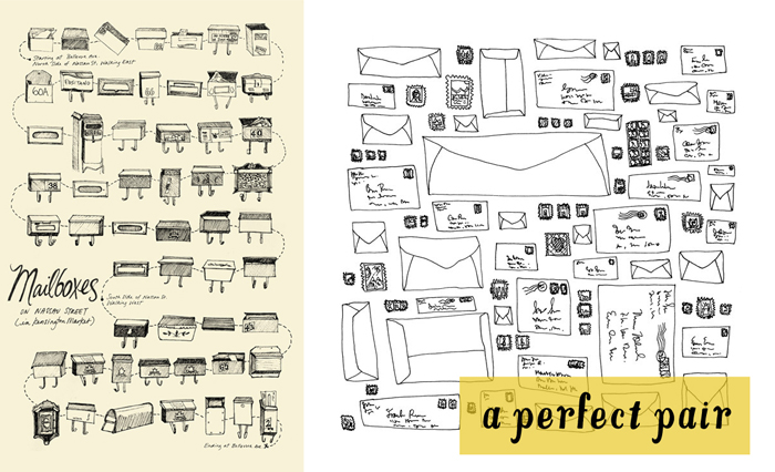 Perfect Pair - Snail Mail Illustrations