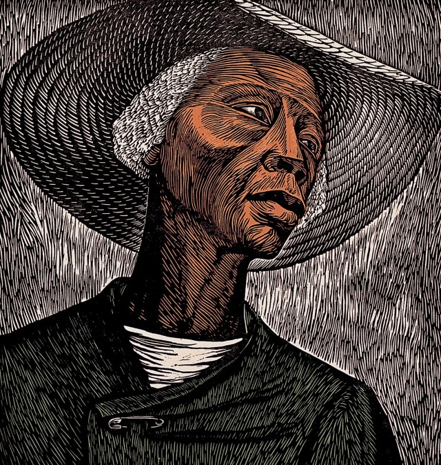 Cotton & Flax - Elizabeth Catlett - Print of the Week