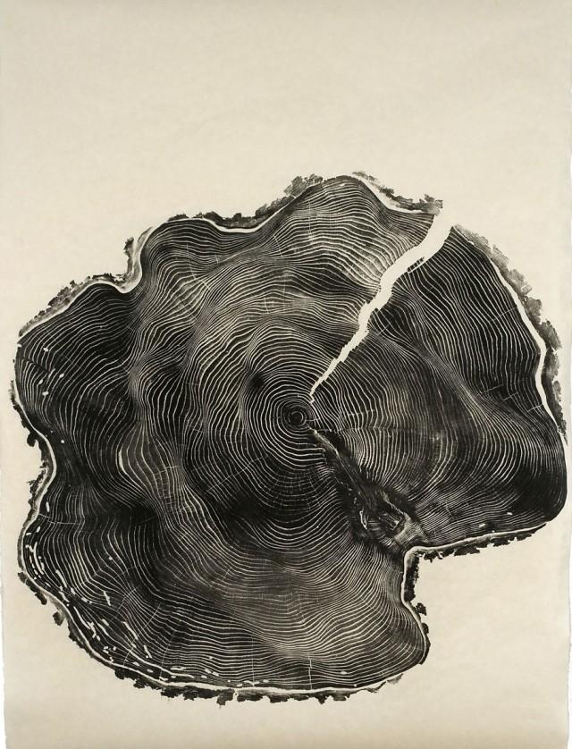 Brian Nash Gill - Woodcut print