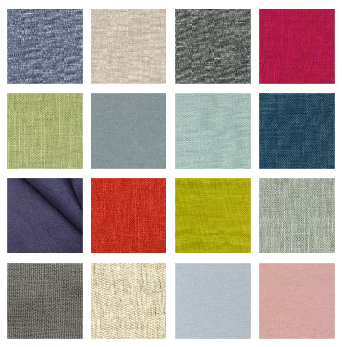 Cotton & Flax - potential fabric samples
