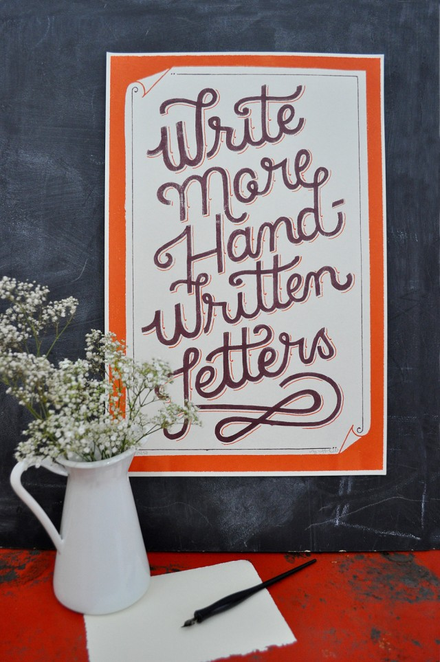 Cotton & Flax - Mary Kate McDevitt - Write more handwritten letters