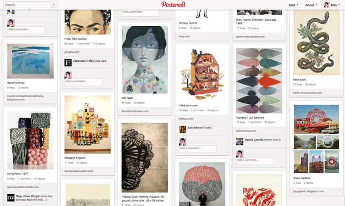 Pinterest inspiration - Cotton & Flax