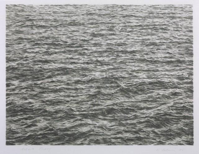 Ocean by Vija Celmins
