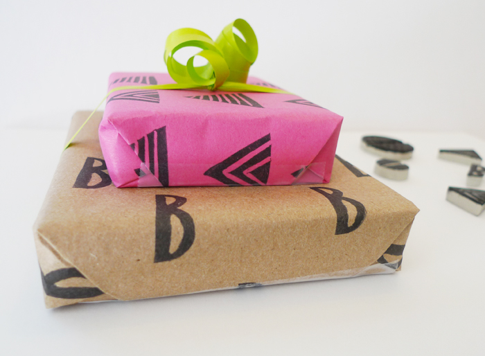Cotton & Flax - DIY gift wrap