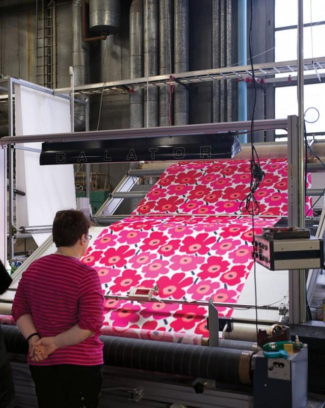 Marimekko Fabric Production