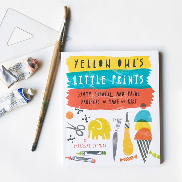 Yellow Owl's Little Prints - Learn to print with kids
