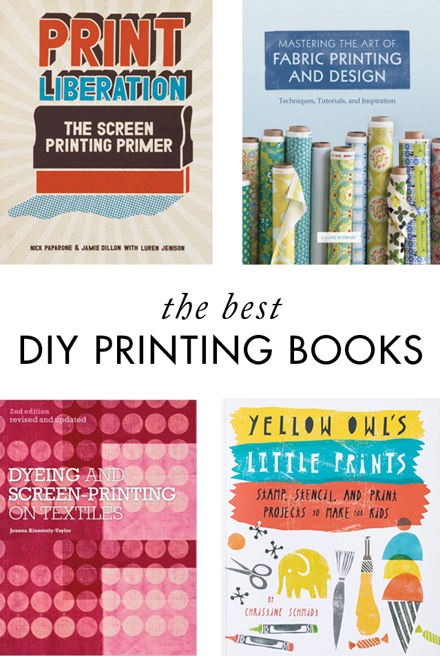 The best DIY printmaking books - Cotton & Flax