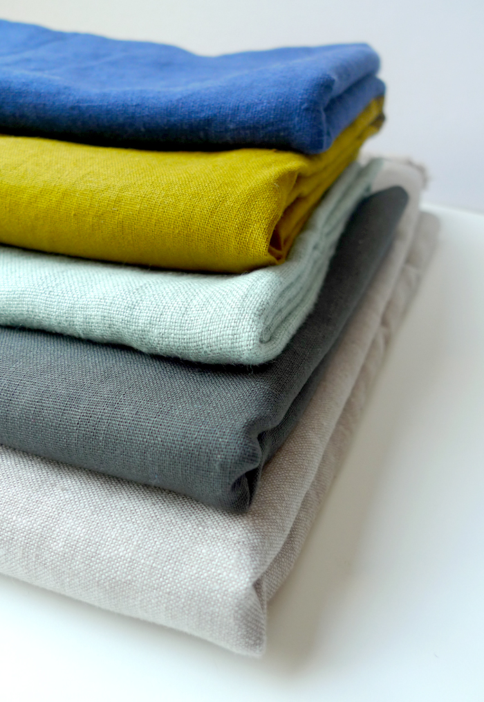 Colorful Linen Fabrics - Cotton & Flax