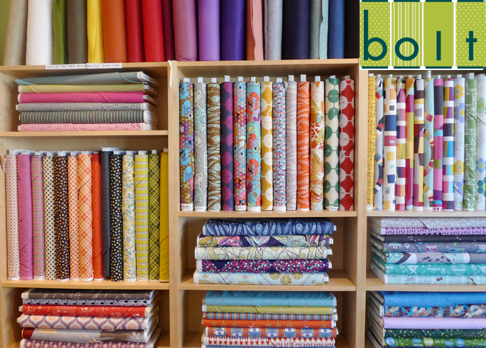 Bolt Fabric Boutique Tour - Cotton & Flax