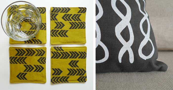 Cotton & Flax - textile designs