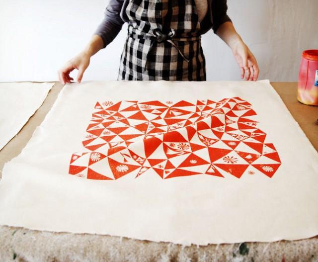 DIY textile printing