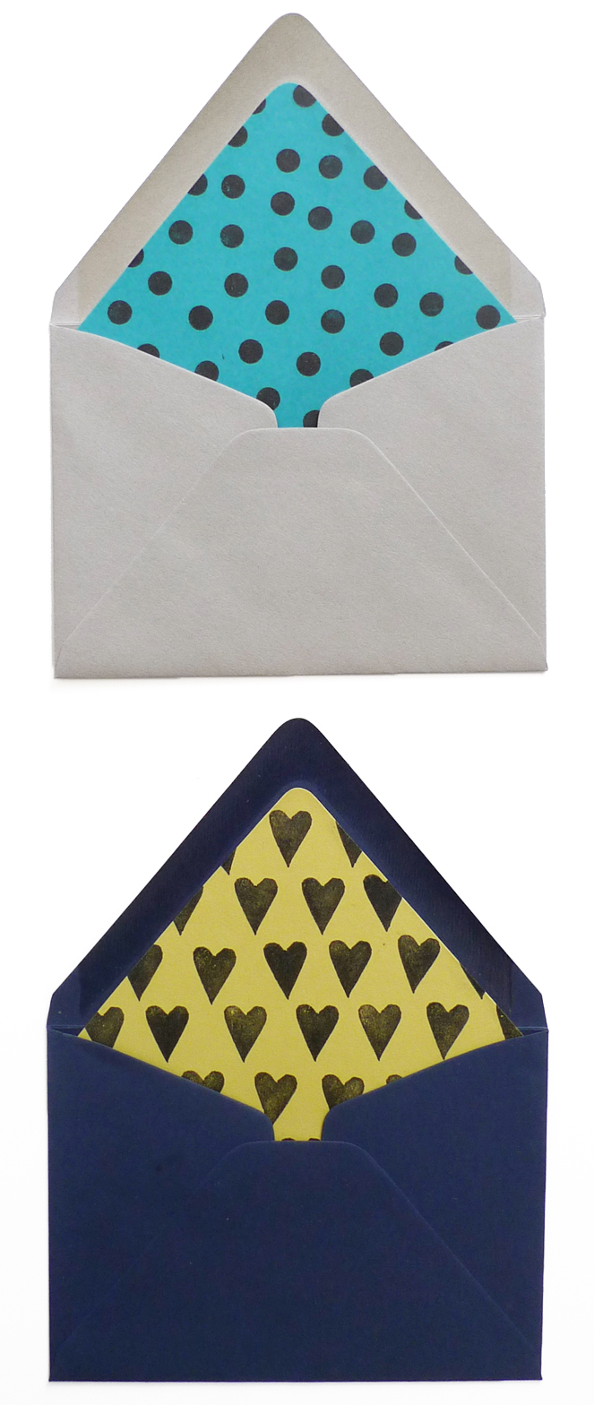 DIY Holiday Envelope Liners