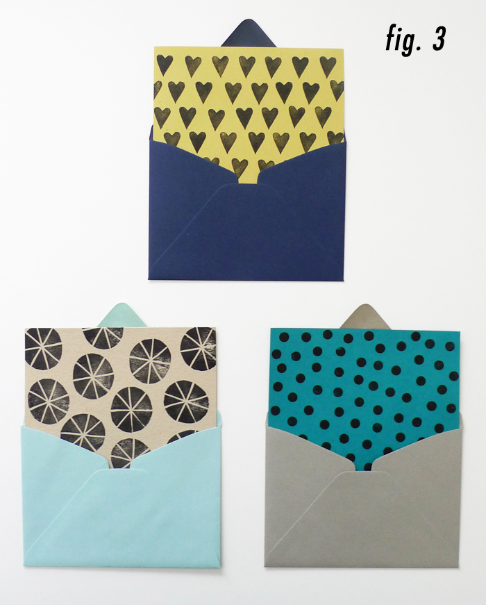 DIY Printed Envelope Liners – Blog - Cotton & Flax