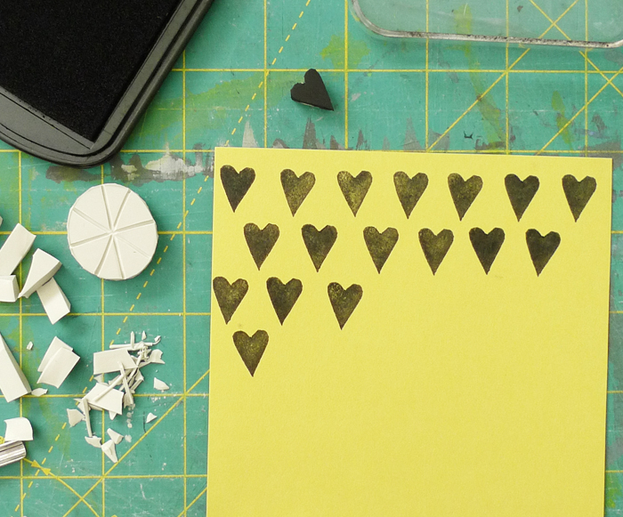 Carve your own stamps - Cotton & Flax