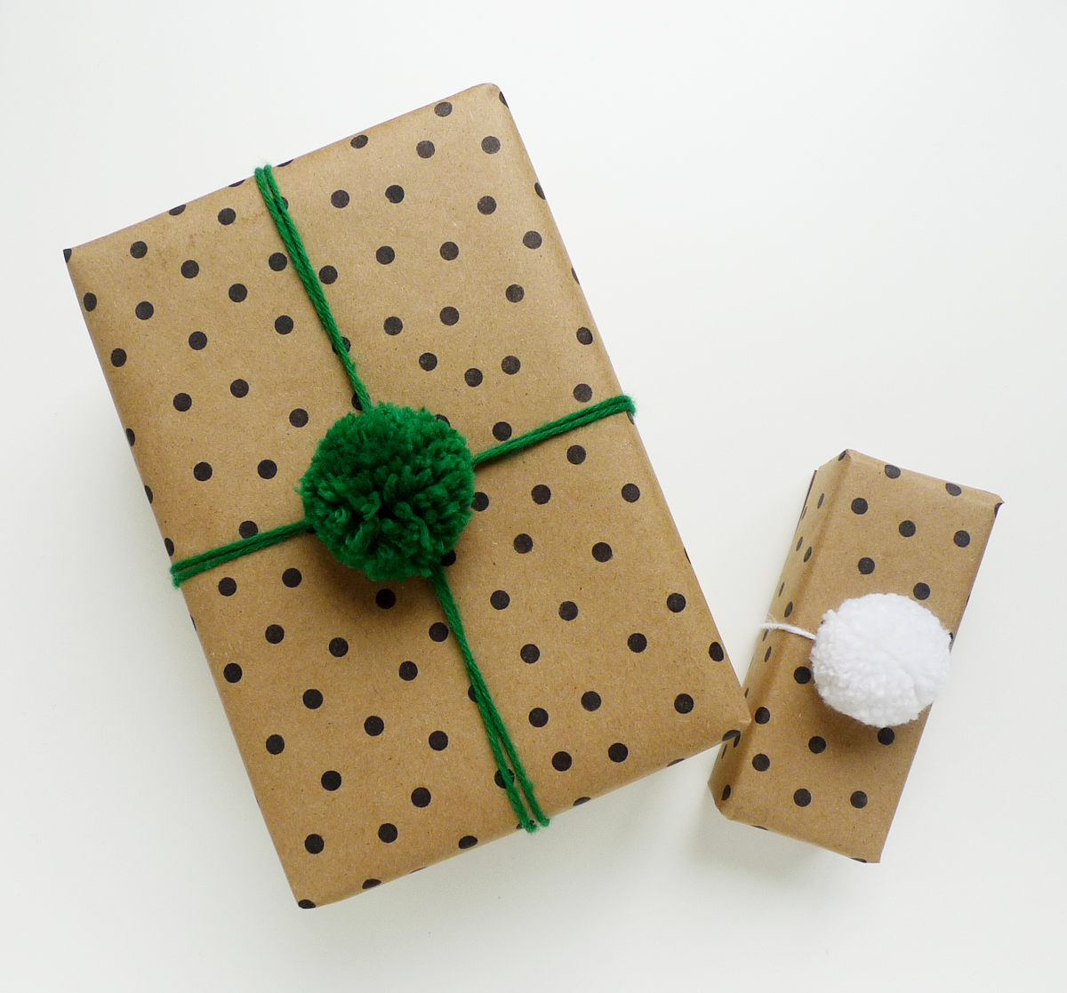 This is an easy way to wrap larger gifts, and an affordable ...