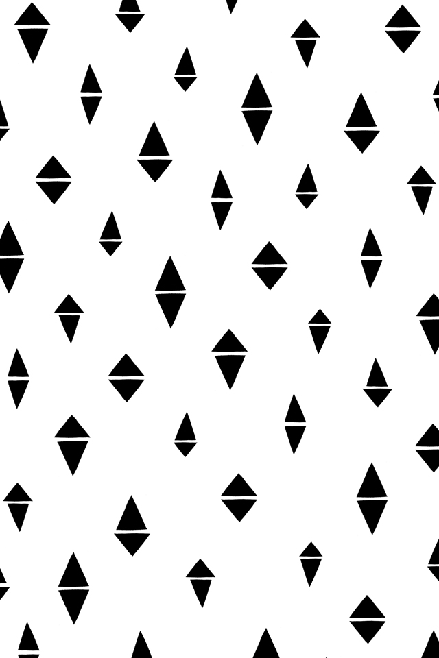 Free Patterned Iphone Wallpaper Divided Diamonds Blog Cotton Flax