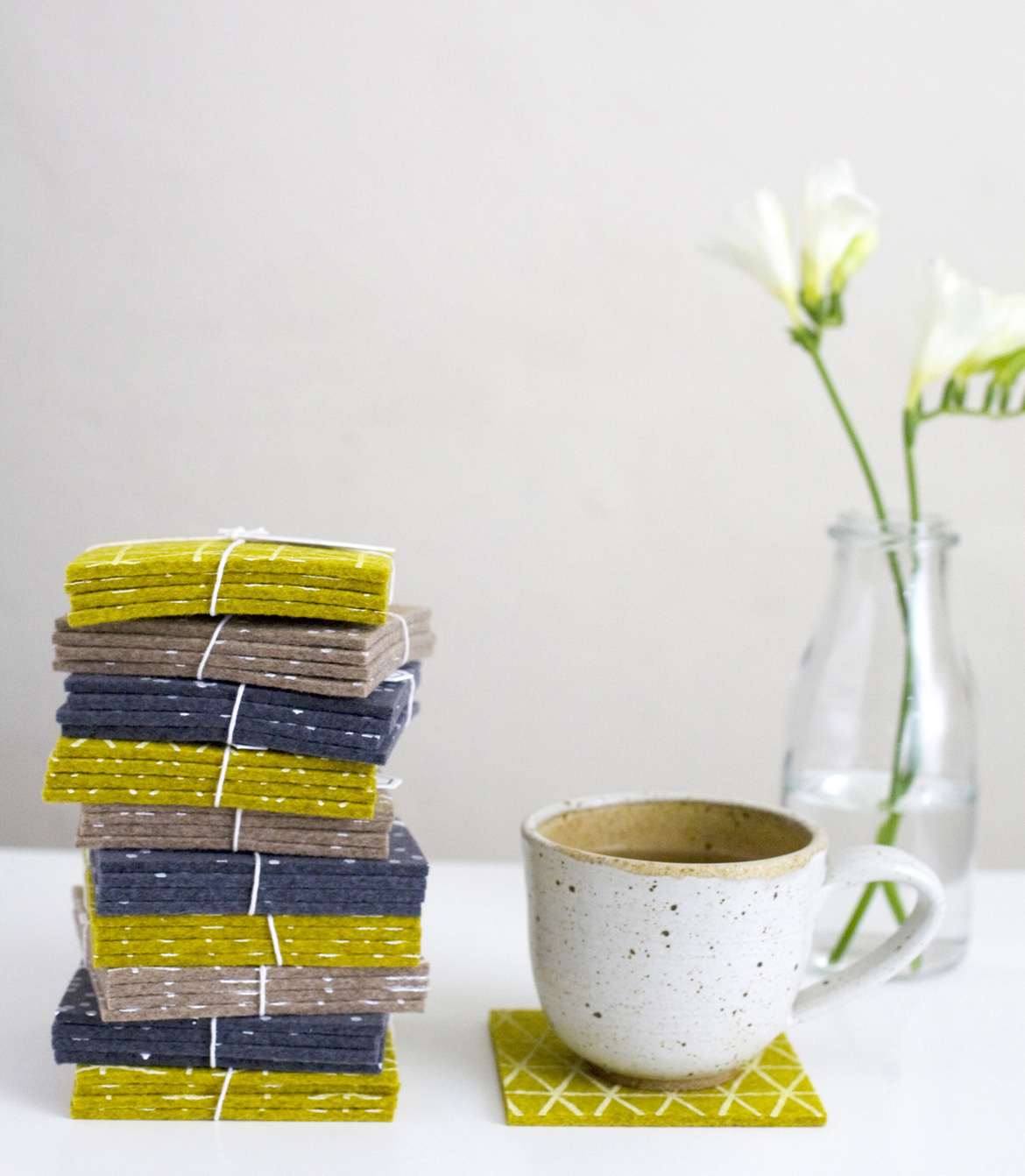 Cotton & Flax Coasters