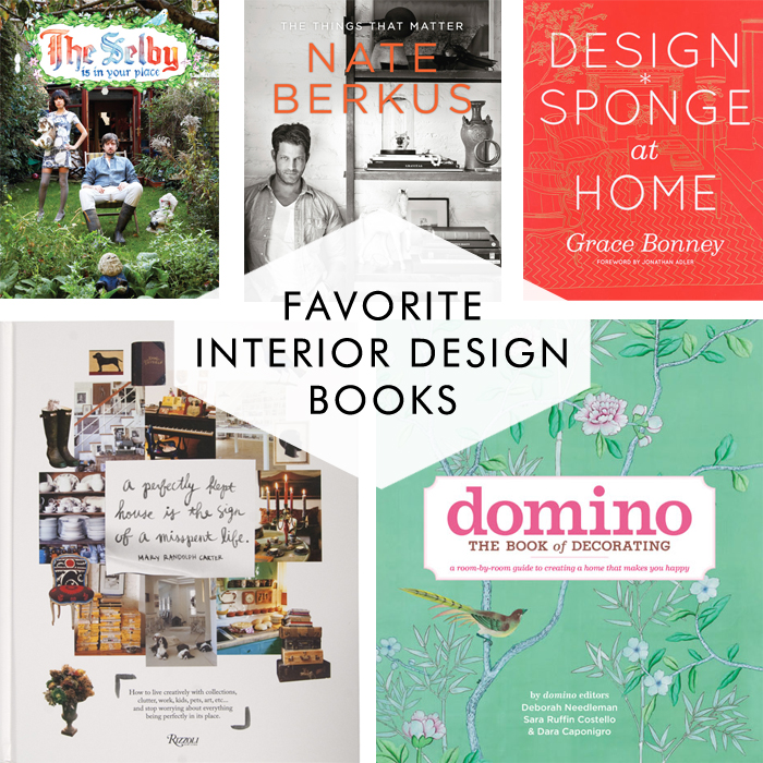 Best Interior Design Books - my favorite design books to help decorate modern homes - Cotton & Flax