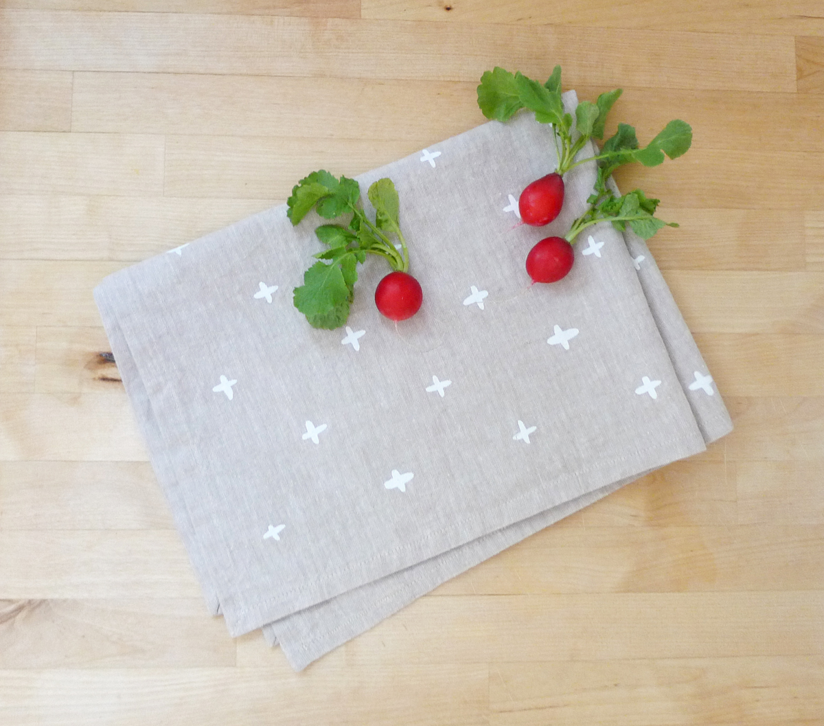 Cotton & Flax Tea Towel