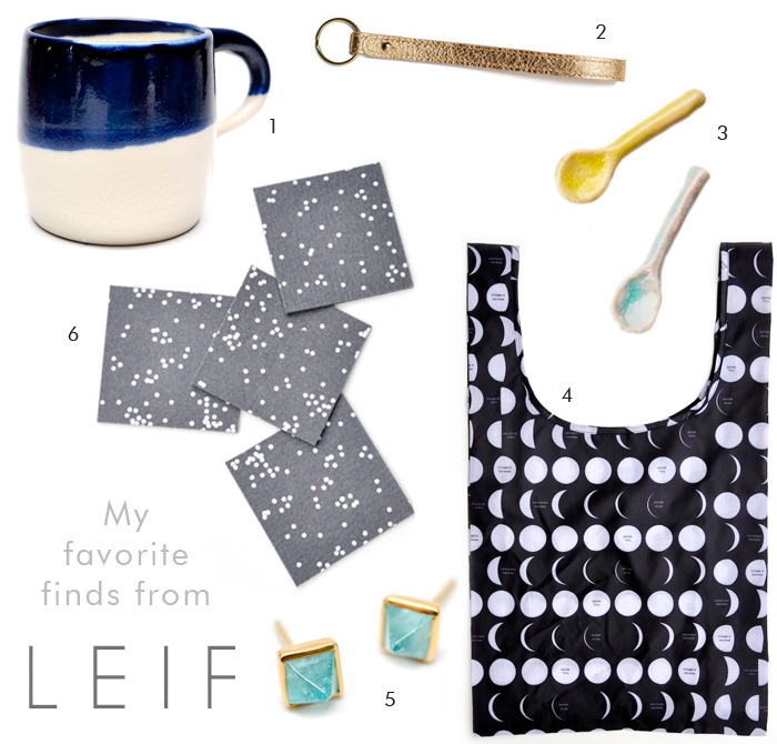 LEIF finds - modern gifts