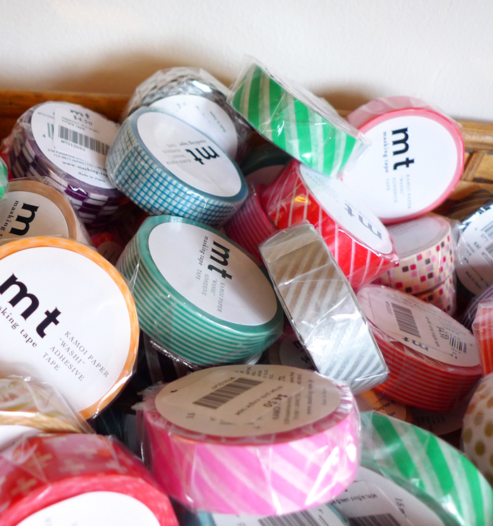 Washi tape at Firefly in Venice, CA