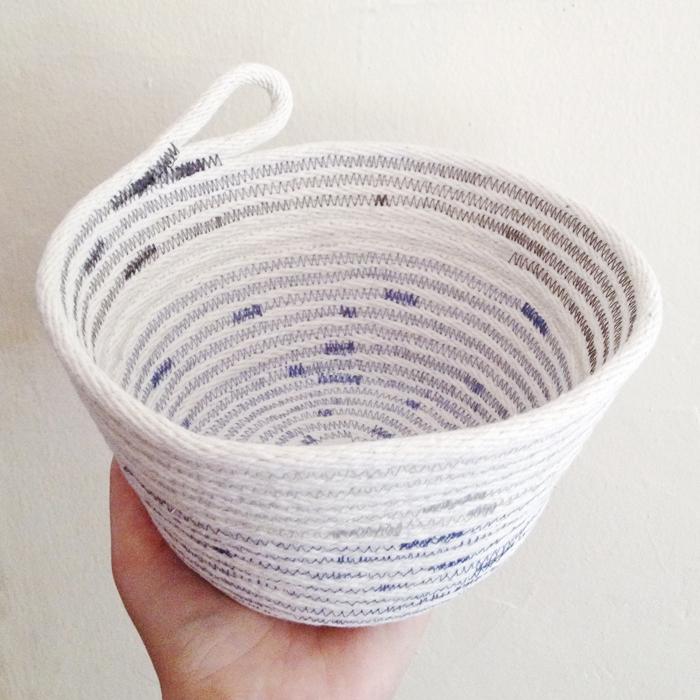 sewn basket