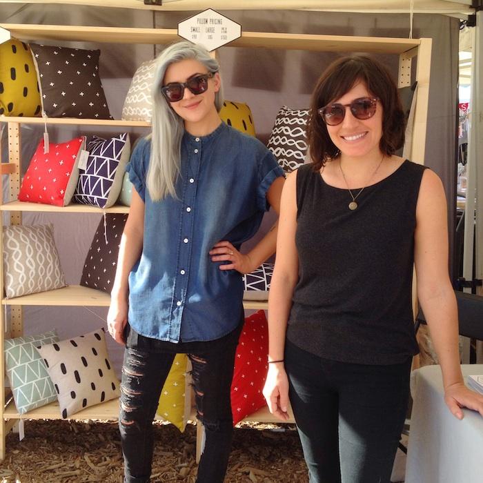 Joanie and Nina