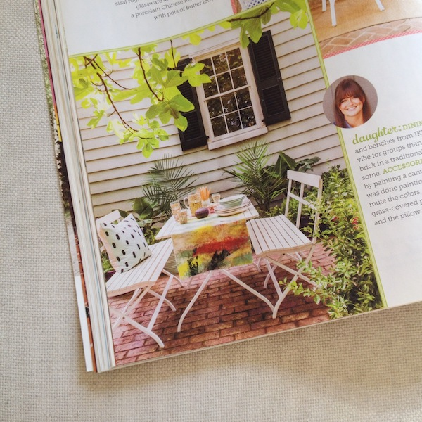 Cotton & Flax in HGTV Magazine