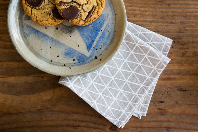 cotton & flax cocktail napkins