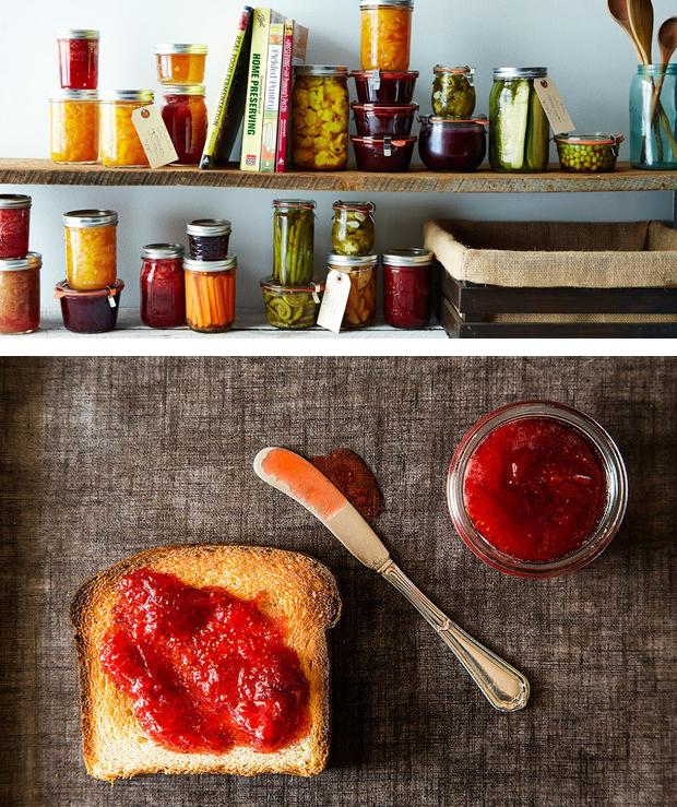 DIY Jams and pickles