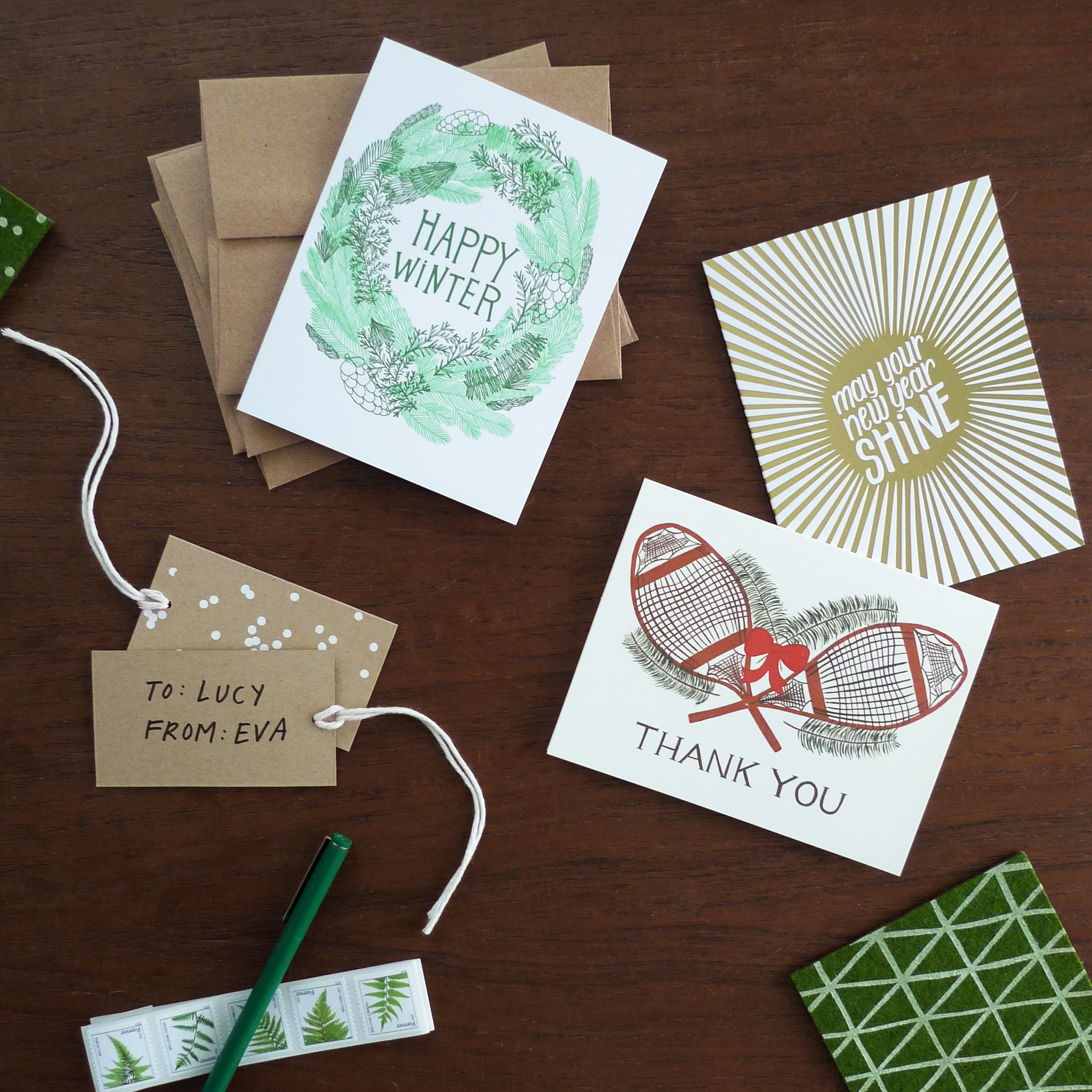 7 Holiday Snail Mail Tips – Blog - Cotton & Flax