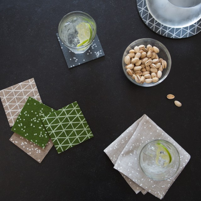 Cotton & Flax tabletop goods