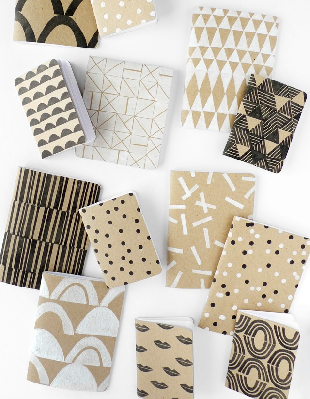 Patterned Scout Books DIY 1