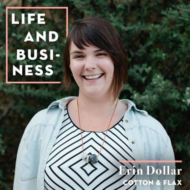 Erin Dollar's business advice on Design Sponge