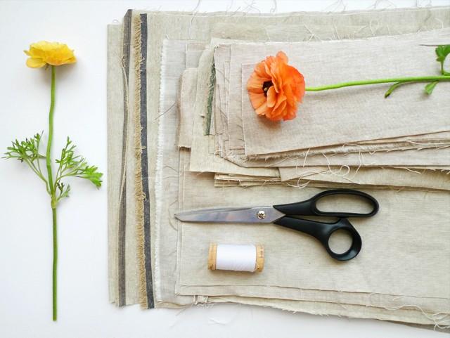 Cotton & Flax scraps