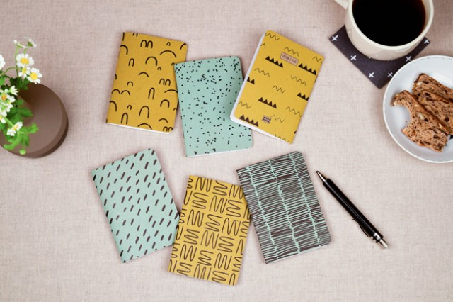 Cotton & Flax notebooks