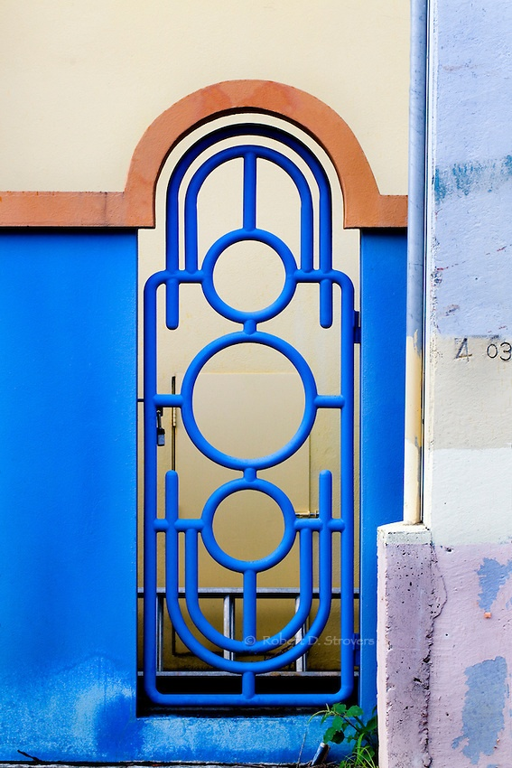 Carribean Blue Gate