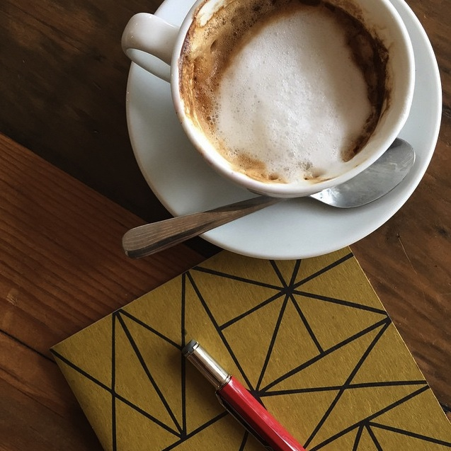 Sketchbook + Coffee