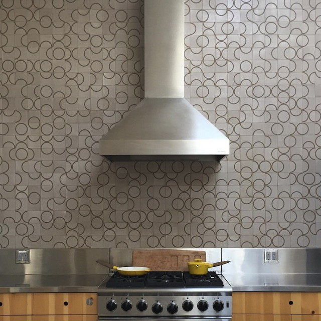 "Tile kitchen wall from ""Tile Makes the Room"""
