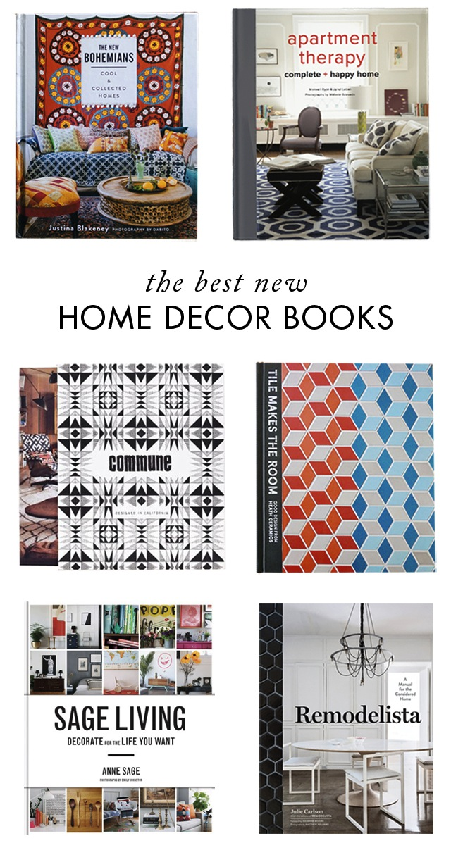 The best new home decor books