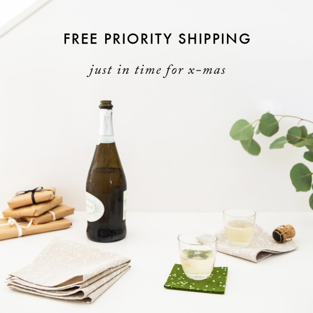 free shiping from Cotton & Flax