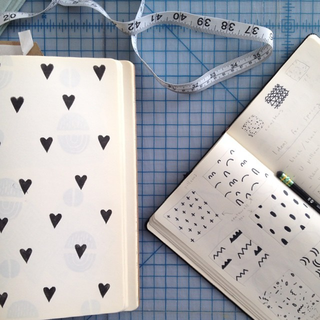 Cotton & Flax pattern sketchboks