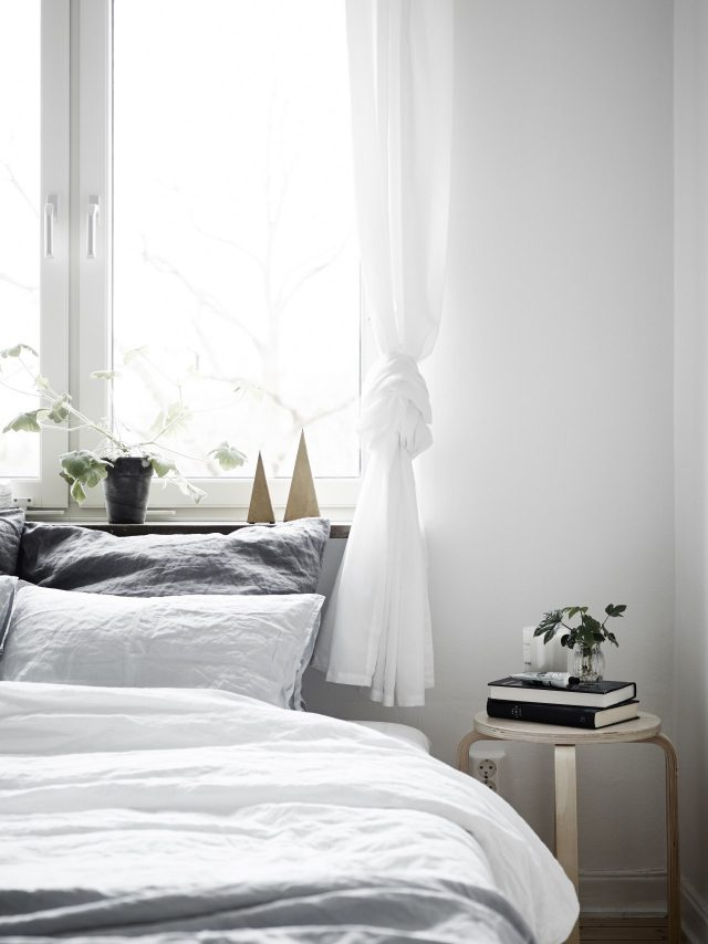 Neutral Bedroom with Natural Light - Coco Lapine Blog