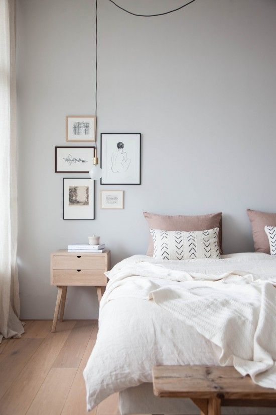 Airy, Minimalist Bedroom