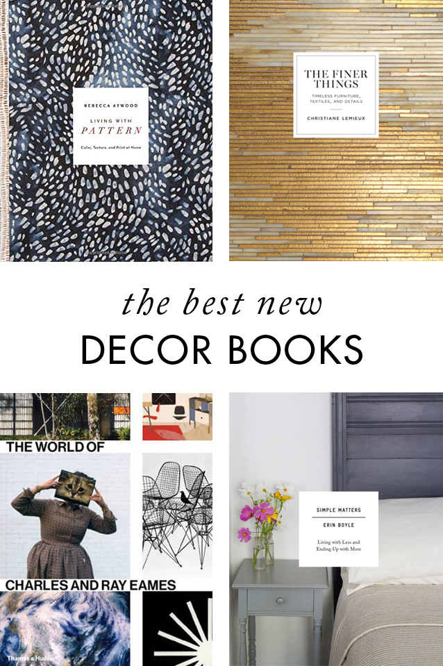 best home decor books of 2016 – blog - cotton & flax