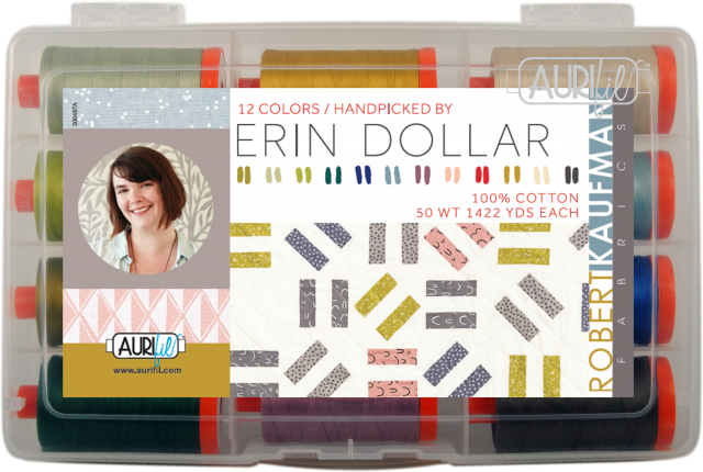 Designer Thread Collections - Erin Dollar for Aurifil