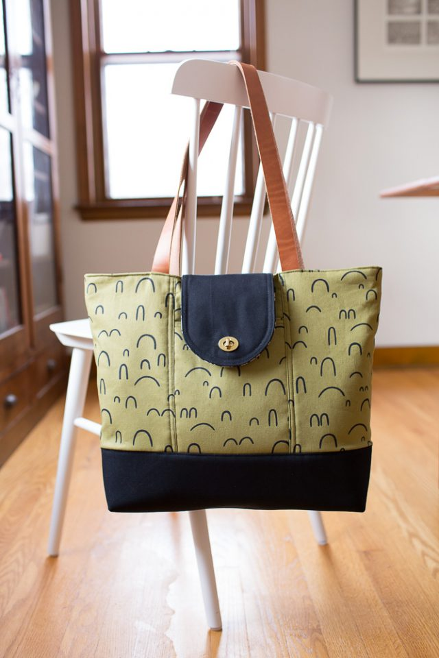 DIY Patterned Tote Bag