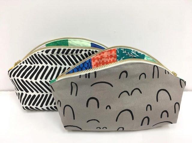 Makeup bags made with Arroyo