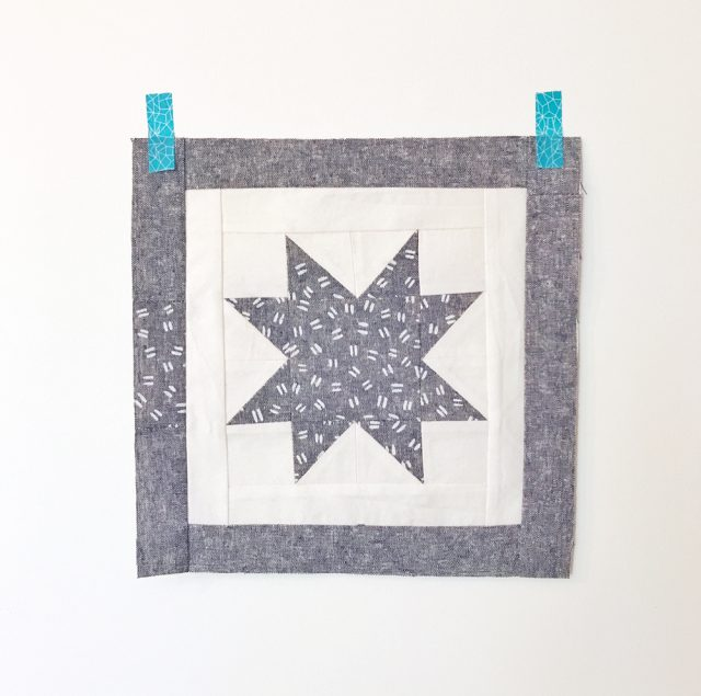 Quilt block made with Arroyo