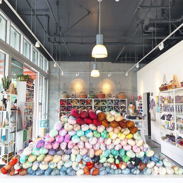 The Black Squirrel - Yarn store in Berkeley, CA